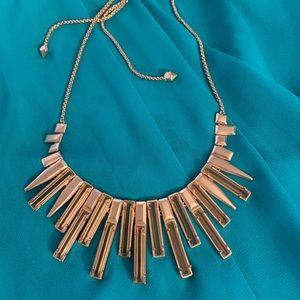 Kendra Scott rose gold adjustable choker necklace